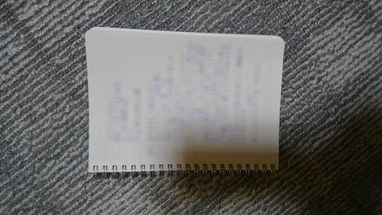 妹に送った卑猥な内容の手紙の画像