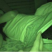 睡眠中の妹に悪戯盗撮